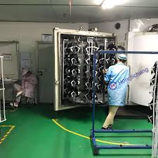 new automatic electrostatic painting line for car parts