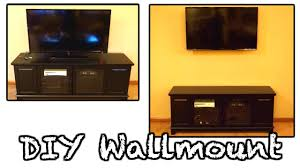 WALL MOUNT TV & HIDE WIRES || DIY FLATSCREEN WALLMOUNT HOW TO GUIDE! -  YouTube