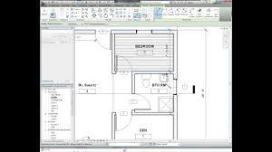 revit tutorial dimensioning floor plan