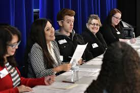 lompoc high students fight nerves participate in mock interviews 012417 mock job interviews 01 jpg