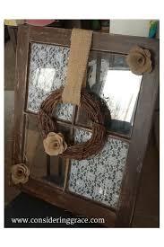 Decorate Old Windows Best 25 Old Window Crafts Ideas On Pinterest Wooden Window