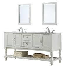 direct vanity sink mission turnleg 70 in double vanity in pearl white with marble vanity