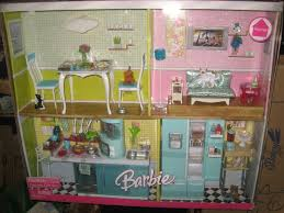 barbie doll house furniture sets. Barbie Home Furniture Deluxe Kitchen And Living Room Gift Set By Mattel Doll House Sets O