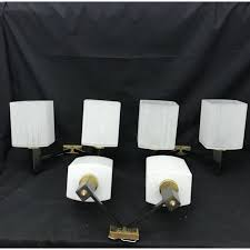 mid century modern wall sconce. Vintage Set Of 3 Mid-Century Modern Wall Sconces, Italy - 1950s Mid Century Sconce