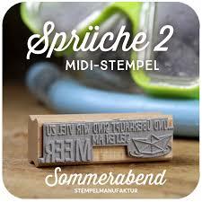 Midi Stempel Sprüche 2 600