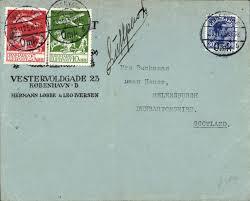 Postal History JF Stamps, danmark