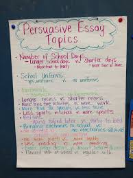 persuasive essay ideas persuasive essay topics for th grade view larger