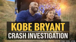 The helicopter crash that killed nba legend kobe bryant, his daughter and six other passengers was probably caused by the pilot becoming disoriented after flying into clouds, investigators said tuesd… Feds To Name Likely Cause Of Kobe Bryant Helicopter Crash