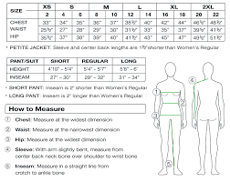 Inseam Measurement Chart By Height Womens Size Chart Sport Obermeyer