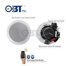 Xuất xứ loa âm trần Wifi OBT WF2 và cách sử dụng - Âm Thanh AHK