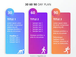 Ppt Templates Download Free Refreshing 30 60 90 Day Plan Powerpoint Template Download