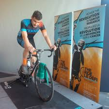 """DO THE RIDE on Twitter: """"Kris Gibbs @TekneCycling showing his support  riding 50km at the annual breakfast for PS @OttawaHospital #THERIDE16… """""""