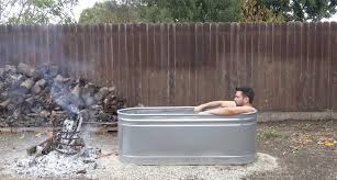 how this engineer made a diy wood fired hot tub for under 250 bucks
