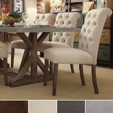 Chair Wondrous Cheap Parsons Chairs With Simple Wood Accents For