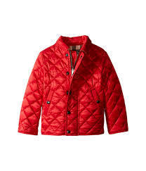 Burberry Kids Luke Quilted Jacket (Infant/Toddler) at Luxury ... & Burberry Kids Luke Quilted Jacket (Infant/Toddler) Adamdwight.com