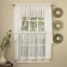 kitchen tier curtains harmony micro stripe semi sheer tiers by lorraine home fashions only 10 99