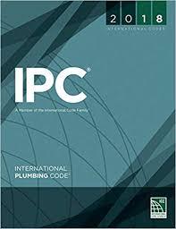 2018 International Plumbing Code International Code Council