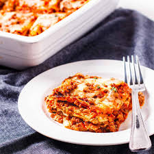 lasagna with homemade noodles dishes