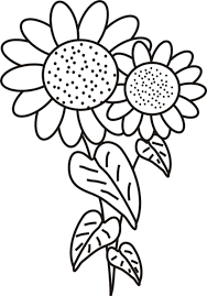 Small Picture Sunflower Coloring Pages Printable Printable Coloring Pages For