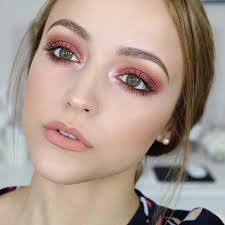 makeup for green eyes the brunch look