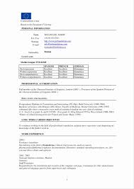 Resume Template Word Download New Data Analyst Resume Template