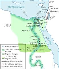 atlas of egypt wikimedia commons Egypt History Map ancient egypt old and middle kingdom es svg egypt history podcast