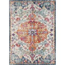 demeter ivory 5 ft x 7 ft indoor area rug