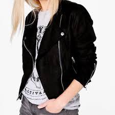 boho vegan leather jacket