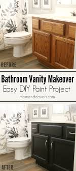 painting a bathroom vanity. Bathroom Vanity Makeover \u2013 Easy DIY Home Paint Project Painting A Y
