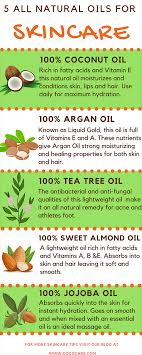 all natural oils for skincare