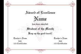 Sample Certificate Award Certificate Award Sample Certificates Templates Free