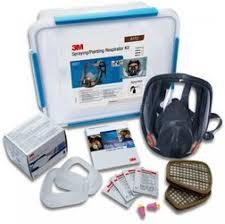 3m 6851 full face mask spray paint respirator kit a1p2