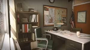 Retro Office Environment by Clinton Crumpler in Environments - UE4  Marketplace