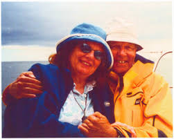 Polly Bradley and Larry Bradley at the Nahant Mass. Memories Road Show -  Digital Commonwealth