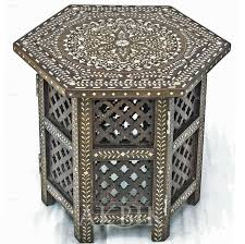 Indian Style Coffee Table Syrian Furniture I Moroccan Furniture I Levantine Furniture I