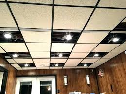drop ceiling recessed lights for lighting alternatives to in living room can installation led