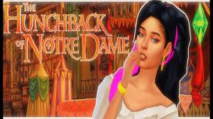 Esmeralda [The Hunchback of Notre dame] : Create a sim - YouTube