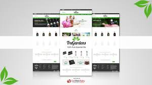 Essential Oil Website Design Essential Oil Web Templates Designed By Store Gowebbaby