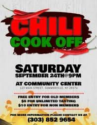 chili supper flyer chili cook off poster templates postermywall