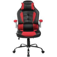office reclining chair. merax highback erogonomic racing style computer gaming office chair recliner yellow walmartcom reclining
