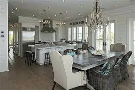 kitchen crystal chandelier beach cottage kitchen with crystal chandelier over whitewashed dining table with zinc top kitchen crystal chandelier