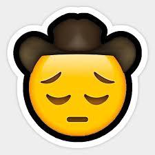 Sad Cowboy Emoji Lil Nas X