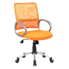 orange desk chair australia boss vibrant managers mesh office chairs orange office chair