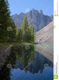 Bear Creek Landscapes Design Bear Creek Lake In The Lost River Range Stock Image Image