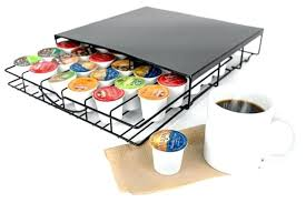 coffee cup holder for counter coffee pod counter top storage drawer fits s coffee tea coco coffee cup holder