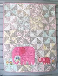 Best 25+ Baby girl quilts ideas on Pinterest | Baby quilts, Baby ... & E is for Elephant Quilt Pattern in a Digital PDF by Pipersgirls Adamdwight.com