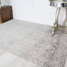light gray traditional area rugs distressed vintage classic soft carpet rug mats