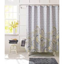 Peach Shower Curtains Fabric Shower Curtain Ideas