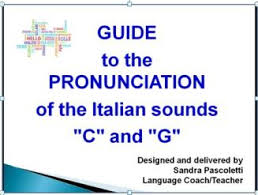 It stands for abc, and is used in the military to avoid miscommunication. How To Pronounce The Letters C And G In Italian Your Language Coach