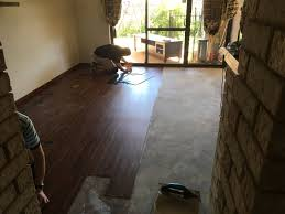 concrete sub floor firstly you will need to test the surface s moisture level this can be done by taping a square piece of vinyl with duct tape to your